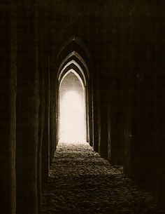 tunnel of light!