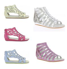 Cage sandals for girls + toddlers now at Umi in lots of cute colors