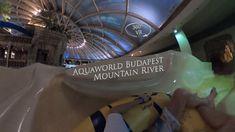 Aquaworld Budapest Mountain River (left, night) 360° VR POV Onride