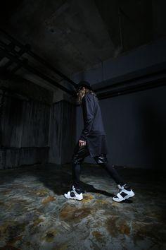 ByTheR- Black X White  en.byther.kr/    #byther#gothic#mensfashion #whitelook #bw #tumblr #ootd#dailylook#aboutalook#photoshoot#springcollection#black#darkwear#darksnap#lookbook #studio #leatherjacket