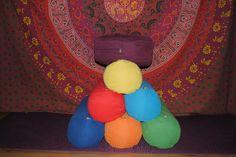 Chakra life hengerpárna és meditációs párna
