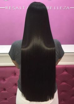 Long Haircut with Side Bangs - 40 Long Hairstyles and Haircuts for Fine Hair with an Illusion of Thicker Locks - The Trending Hairstyle Straight Black Hair, Long Thin Hair, Really Long Hair, Super Long Hair, Long Hair Cuts, Long Hair Styles, Face Shape Hairstyles, Haircuts For Fine Hair, Straight Hairstyles