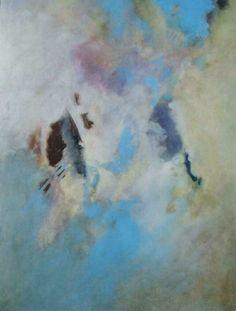 Blue Emotions, 1997, Öl auf Leinwand/Holz,  60 x 80 cm