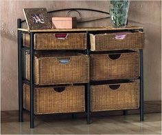 Wicker Basket Storage Shelf - Here is some storage furniture from Bedroom Furniture. These organizers and storage accessories are very helpful to streamline your maintenance tasks.