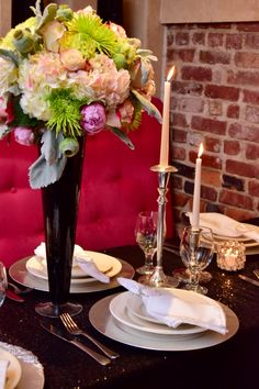 Tablescape decor / warm colors by KettyDelights