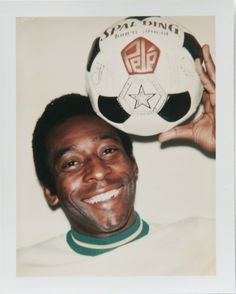 Pelé by Warhol