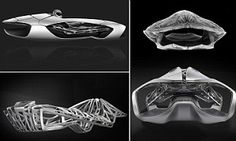 The 3D-printed car body inspired by a turtle shell #DailyMail