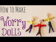 Intended to soothe the nightmares of children, Guatemalan worry dolls are easy to make, and most definitely, NOT just for kids! Tell these little guys your w...
