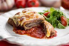 Bife à parmegiana de forno por Academia da carne Friboi