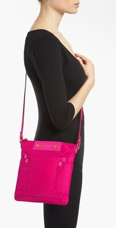 Tickled pink with this Marc Jacobs crossbody.