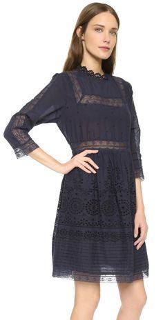 Sea Eyelet Lace Combo Dress | SHOPBOP