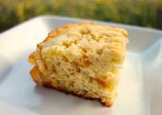 Creamed Corn Butter Dips Recipe - creamed corn, butter, eggs and Bisquick - only 4 simple ingredients make up this delicious corn bread recipe!