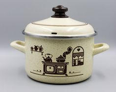 Your place to buy and sell all things handmade Kitchen Ware, Vintage Kitchen, Tea Pots, Etsy Shop, Beige, Mugs, Tableware, Cooking, Diy Kitchen Appliances