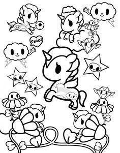 toki doki coloring pages | Tokidoki Unicorno Base by Umbreon72.deviantart.com on ...