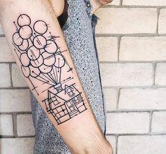 """""""Up"""" Tattoo"""