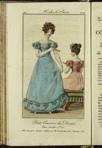 Petit Courrier des Dames : annonces des modes, des nouveautés et des arts del 10 de Octubre de 1822
