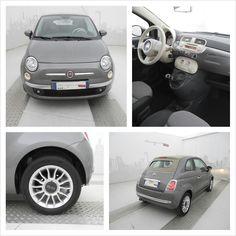 Fiat 500C 1.2 69 CV Lounge, a Km 0, color Grigio Pompei, a 15.000 €!
