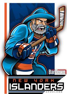 BarDown: NHL Cartoon Mascots: Bonus Edition