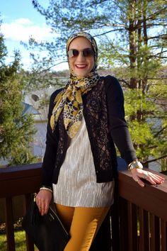 A Day In The Lalz: Dijon Winter, Holiday Look, The Limited, Banana Republic, Modesty, GiGi NY, Hijab