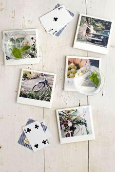 Ceramic Tile Coasters  - CountryLiving.com