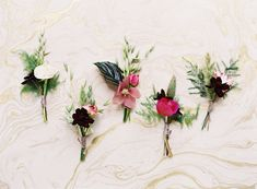 Navy and pink wedding inspiration | photo by Jessica Burke | 100 Layer Cake