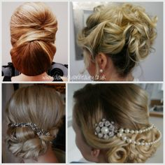 Wedding Day and Occasion Hair Up