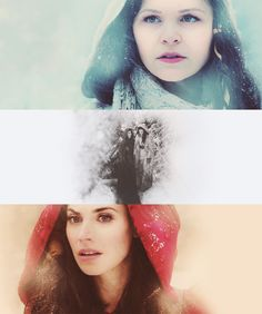 Snow White and Red Riding Hood from Once Upon a Time.