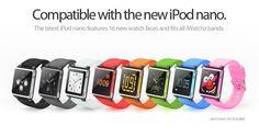iWatchz — Wear your iPod nano like a watch.
