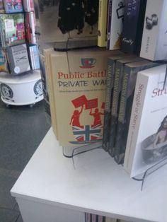 On the shelf at Swansea Museum