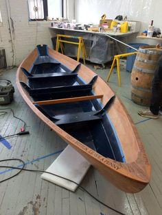 Light-weight Rowing and Sailing Dory That You Can Build