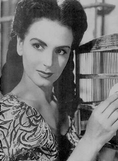 Marga López, una de las grandes actrices del cine de oro mexicano.