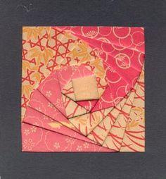 Go Make Something » Iris Folding Project #1 – Square