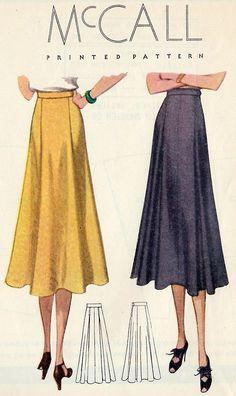 McCall pattern 1938