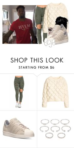 """""""let me know -Tamar Braxton ft. future"""" by pretty-ambi ❤ liked on Polyvore featuring H&M, adidas and Forever 21"""
