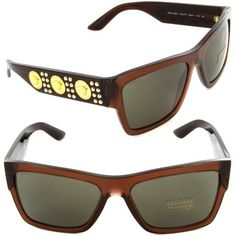 ef980e23f1637 VERSACE Sunglasses VE 4289 5130 73 Transparent Brown   Brown Lens