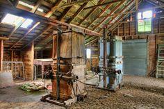 Abandoned Wool Shed, Argyll East, Hawkes Bay, New Zealand