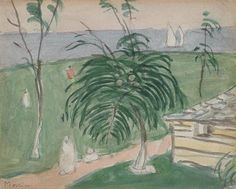 James Wilson Morrice, Jamaica, Made of watercolour and graphite on wove paper