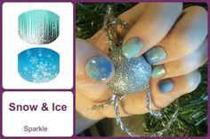 SNOW & ICE Jamberry Juniors Nail Wraps #SnowIceJN www.debsjaminails.jamberrynails.net