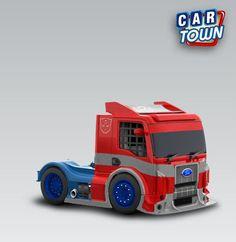 Ford Formula Truck 2012 - Optimus Prime