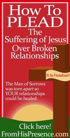 Jesus paid the price for your broken relationships to be mended. Here's how to pray and ask God to restore your friendships and family!