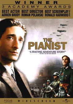 The Pianist (Le Pianiste), 2002 - the true story of Wladyslaw Szpilman's survival of the Holocaust (when so many did not) as an accomplished piano player and Polish Jew in Warsaw, 1939-1945 - Riveting, Incredible, and Roman Polanski's best work