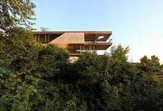 Elmar Ludescher Architekt Haus am Berg Isel, Bregenz, Austria