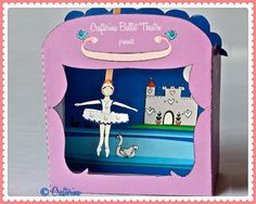 Swan Lake Puppet Theater Printable PDF Kit by Crafterina on Etsy, $4.50 www.Crafterina.com