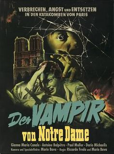 I vampiri (The Devil's Commandment), 1956 - german poster