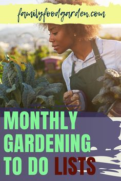 Successful gardening requires time, patience and consistency. There are some tasks that must be handled frequently and others only need to be done on a monthly basis. Family Food & Garden wants to help you keep your gardening tasks organized so that you are on top of every detail. FFG has compiled a comprehensive monthly to do list that you can check off, have peace of mind that it's done and enjoy the benefits. Read more… #monthlygardeningtasks #monthlygardeningtodolist #gardeningtodolists Healthy Fruits And Vegetables, Winter Vegetables, Task To Do, Greenhouse Growing, Garden Journal, Veg Garden, Autumn Garden, Consistency, Garden Planning