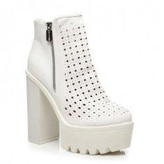 Dierkované topánky Block Heels 56260W