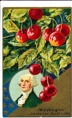 Washington's Birthday Patriotic Postcard