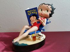 Betty Boop Bathing Beauty Porcelain Doll ~Danbury Mint Collection