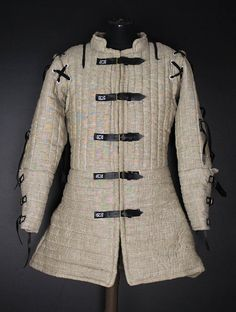 Arming linen doublet Linen doublet 1405 year padded armor