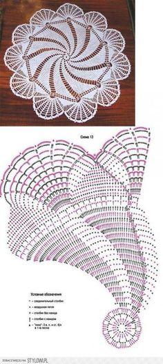 Crochet Doily Patterns 42747 Patterns of crochet doilies. Filet Crochet, Crochet Doily Diagram, Crochet Doily Patterns, Crochet Chart, Thread Crochet, Irish Crochet, Crochet Designs, Crochet Stitches, Knitting Patterns